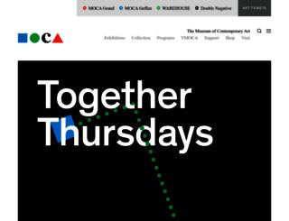 sites.moca.org screenshot