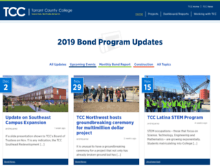 sites.tccd.edu screenshot