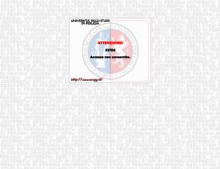sites.unipg.it screenshot
