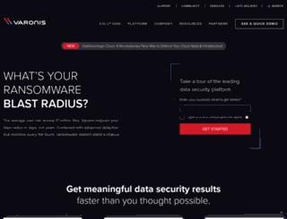 sites.varonis.com screenshot