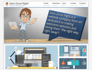 sitesdoneright.com screenshot