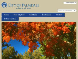 sitesearch.cityofpalmdale.org screenshot