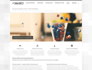 siteseo.pl screenshot
