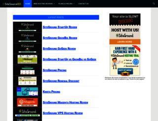 sitesource101.com screenshot