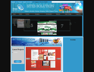 sitessolution.com screenshot