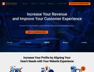 sitetuners.com screenshot