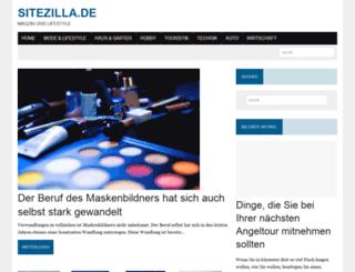 sitezilla.de screenshot