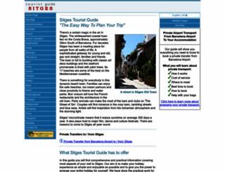 sitges-tourist-guide.com screenshot