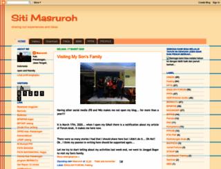 sitimasruroh.blogspot.com screenshot