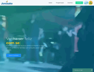 sitiojonosake.com.br screenshot