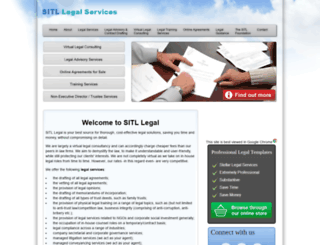 sitllegal.co.za screenshot