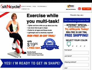 sitncycle.com screenshot