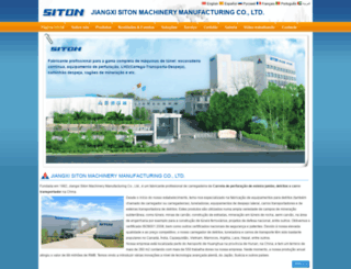 sitonchina.com.pt screenshot