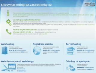 sitovymarketing.cz screenshot