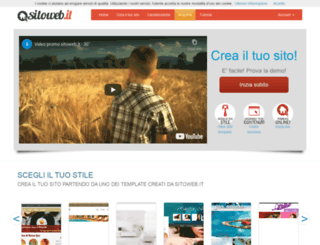 sitoweb.it screenshot