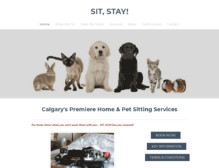 sitstay.ca screenshot