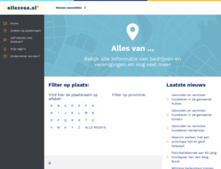 sittard-geleen.allesvan.nl screenshot