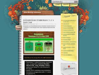 situsbiologiindonesia.blogspot.com screenshot