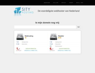 sity.nl screenshot