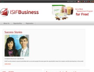siv.isifbiz.com screenshot