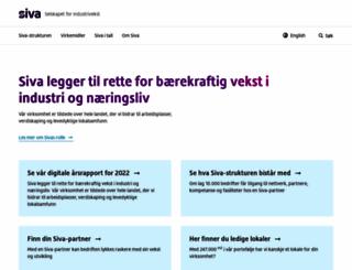 siva.no screenshot
