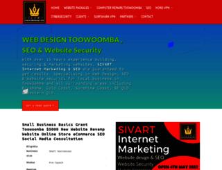 sivartinternetmarketing.com screenshot