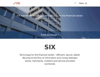 six-card-solutions.com screenshot