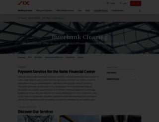 six-interbank-clearing.com screenshot