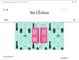 sixclothes.com screenshot