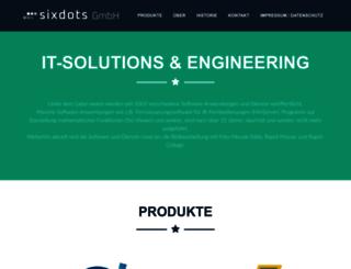 sixdots.de screenshot