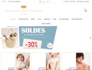 sixpiedstroispouces.com screenshot