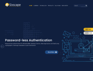 sixscape.com screenshot