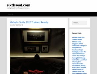 sixthseal.com screenshot
