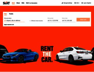 sixti.com screenshot