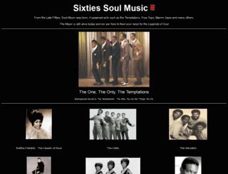sixtiessoulmusic.com screenshot