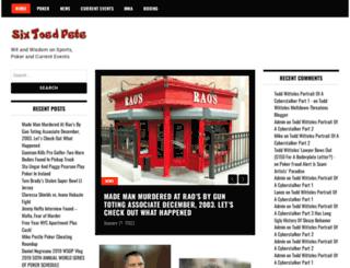 sixtoedpete.com screenshot