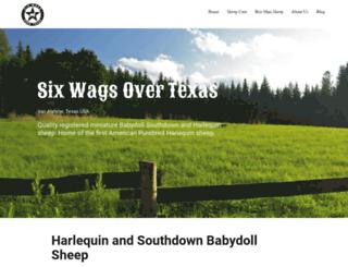sixwagsovertexas.com screenshot