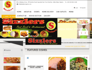 sizzlersnigeria.com screenshot