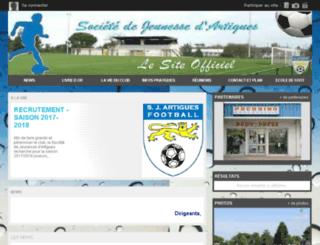 sja-football.com screenshot
