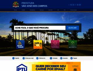 sjc.sp.gov.br screenshot