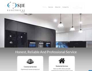 sjeelectrical.com.au screenshot