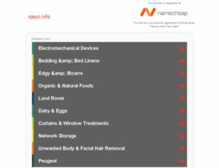 sjeyc.info screenshot