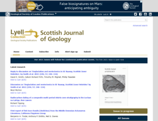 sjg.lyellcollection.org screenshot