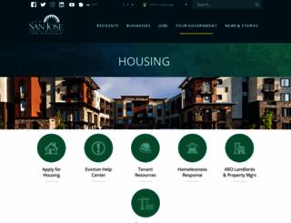 sjhousing.org screenshot
