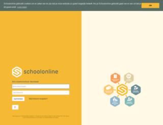 sji-borsbeek.schoolonline.be screenshot