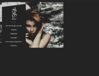 sjsallure.com screenshot