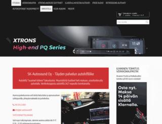 sk-autosound.fi screenshot