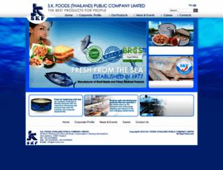 sk-foods.com screenshot