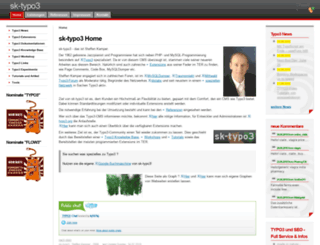 sk-typo3.de screenshot