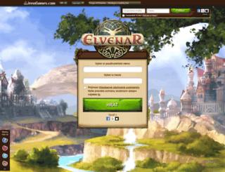 sk.elvenar.com screenshot